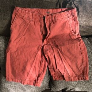 Red old navy shorts